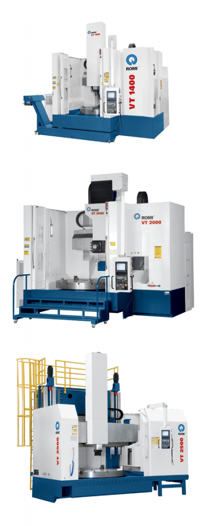 VT-Series Vertical CNC Lathes