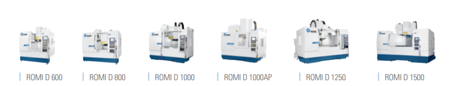 ROMI D Series Vertical Machining Centers